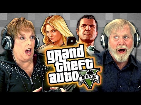 Xxx Mp4 Elders Play Grand Theft Auto V Elders React Gaming 3gp Sex