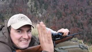 Lov na Zelengori. Divokoza. Chamois hunting best shot ever. Серна охота Лучший выстрел.