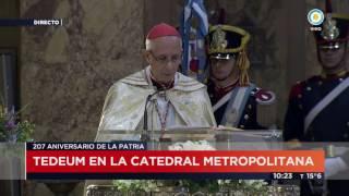 TV Pública Noticias - Tedeum: Mensaje del arzobispo de Bs.As. Mario Poli