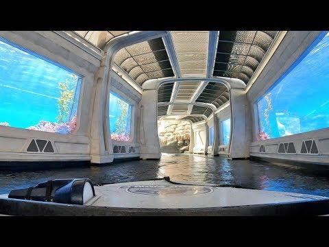 Jurassic World The Ride Front Seat 4K POV Universal Studios Hollywood