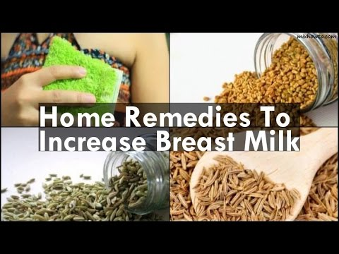 Home Remedies To Increase Breast Milk