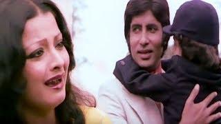 Amitabh Bachchan, Rekha, Do Anjaane - Scene 29/31
