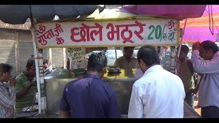 Guptaji ke Chole Bhature & Chole Chawal | Only 20 Rs Plate | Street Food Delhi