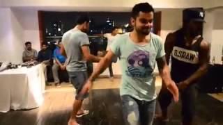 Virat kohli  dance on bhojpuri song