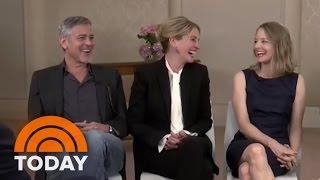 George Clooney, Julia Roberts, Jodie Foster Talk 'Money Monster' | TODAY