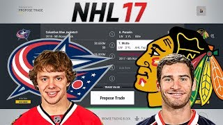 Trade Breakers: NHL 17 Trade Simulation. SAAD-PANARIN TRADE