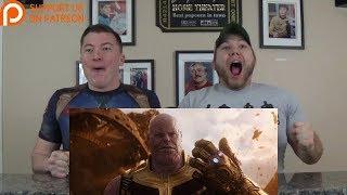 Avengers: Infinity War Official Trailer REACTION!!!