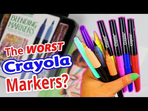 Xxx Mp4 I WANT MY MONEY BACK CRAYOLA Blend Amp Shade Marker Review 3gp Sex