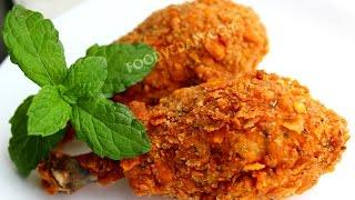 Crispy chicken drumsticks recipe