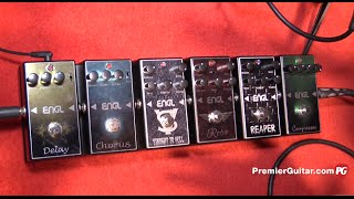 NAMM '16 - Engl Pedals and RockMaster Combo Demos