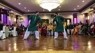 Best mehndi dance 2018 Pakistani wedding bhangra dance