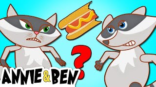 DOUBLE TROUBLE | Funny Animals Cartoons for Children by The Adventures of Annie and Ben