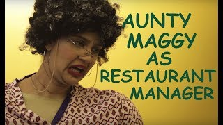 Aunty Maggy in 'Getting Served by Maggy'