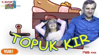 TOPUK KIR - Topuk uzun Süre kısa Kolaysa siz yapın :D Eğlenceli Oyun Videosu - Funny Games