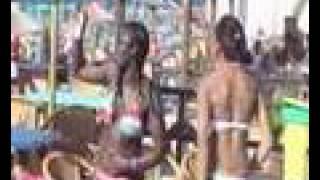 Bikini Beach - The Girls dance to MC bonez - DJ Q