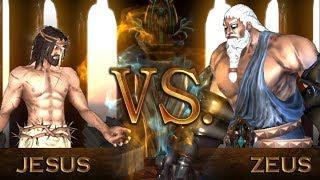 JESUS VS ZEUS | Fight of Gods