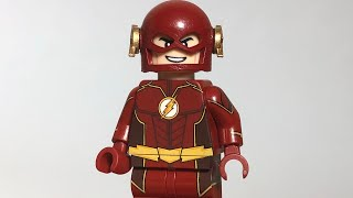 LEGO Minifig Madness - CW Future Flash Minifigure REVIEW / SHOWCASE - MUST WATCH