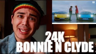 24K - Bonnie N Clyde MV Reaction [HELLA HYPE!]