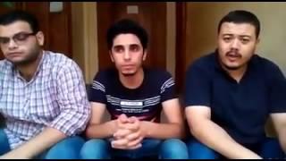 ثلاثة شباب يقلدون اشهر مقدمات برامج اذاعة القران الكريم