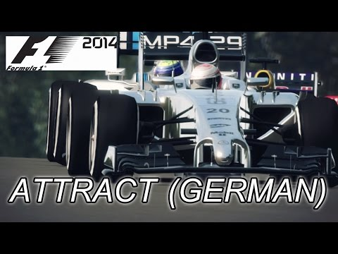 F1 2014 - PS3/X360/PC - Attract (German trailer)