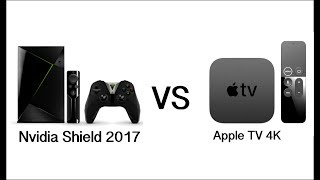 Apple TV 4K VS NVIDIA SHIELD - Which one is better?