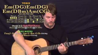 Like I Can (Sam Smith) Guitar Lesson Chord Chart - Capo 3rd