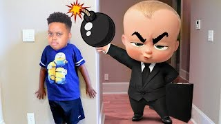 BOSS BABY vs Bad Baby Shiloh! - Shasha and Shiloh - Onyx Kids