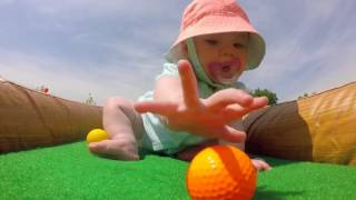 Inflatable Mini Golf is fun for ALL ages! Rent one today!