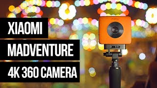 XiaoMi Mijia MadVenture 4K 360 camera - First Look and Spec