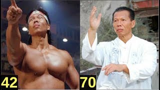 Bolo Yeung from 23 to 71 years old