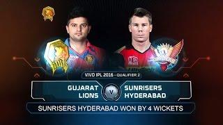SRH vs GL match Highlights - Semi Final - IPL 2016 -  Qualifier 2 -SRH WIN - SRH vs Gujarat #images