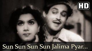 Sun Sun Sun Sun Jalima Pyar (HD) - Aar Paar Songs - Guru Dutt - Shyama - Shakila - Filmigaane