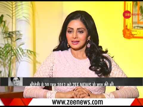 Xxx Mp4 Watch Sridevi S Last Interview With Zee Media 3gp Sex