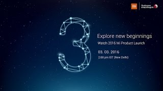 2016 Redmi Note 3 Launch - Rise To Power