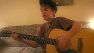 Cry me a River - Justin Timberlake cover - Justin singing (Justin Bieber)