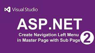 Create Navigation left menu of Master Page in ASP.NET | VB - 02