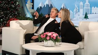 Barbra Streisand Visits Ellen for the First Time!