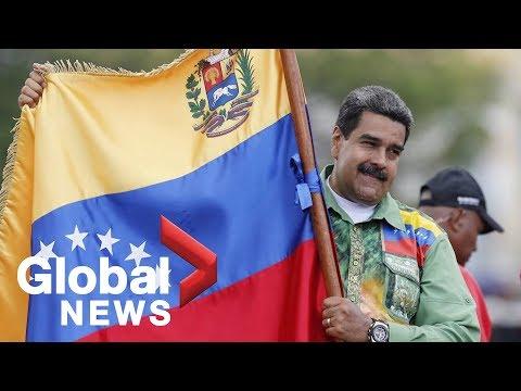 Xxx Mp4 Venezuela Crisis Thousands Of Nicolás Maduro Supporters March Through Caracas 3gp Sex
