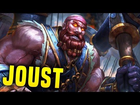 Vulcap'n Redbeard! What A Game! | Smite Vulcan Joust Gameplay (Joust Build)