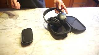 Bose QC35 vs Bose QC20i Headphones Travel Review 2018