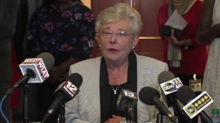 Alabama Governor Kay Ivey holds first press conference