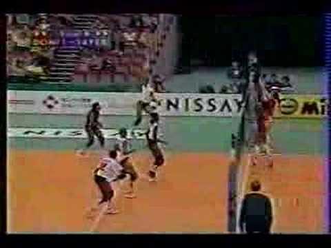 PERU VS REPUBLICA DOMINICANA MUNDIAL DE VOLEY 1998
