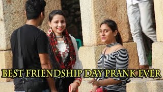 Friends or lesbians? Friendship day special Prank