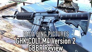 GHK Colt M4 Version 2 GBBR Review