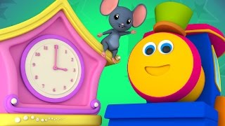 Bob The Train | Hickory Dickory | Nursery Rhymes | Kids Songs | Bob Cartoons Kids Tv