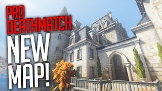 Overwatch - NEW DEATHMATCH MODE! With Pro's! (NEW Map Chateau Guillard)