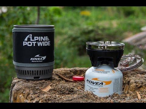 Газовая горелка Kovea Alpine Pot Wide KB-0703W - Jetboil от KOVEA