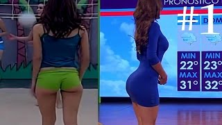 Mexican Weather Girl Yanet Garcia HOT Compilation - 1