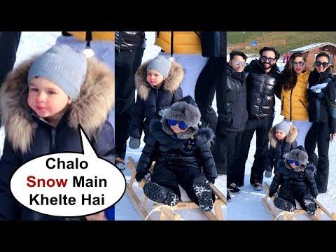 Xxx Mp4 Taimur Ali Khan Goes Snow Sledging With Kareena Kapoor And Saif Ali Khan In Switzerland 3gp Sex