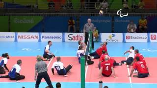 Day 2 evening | Sitting Volleyball highlights | Rio 2016 Paralympic Games